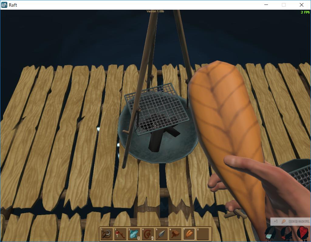 ラフト、焼き魚の食べ方の画像