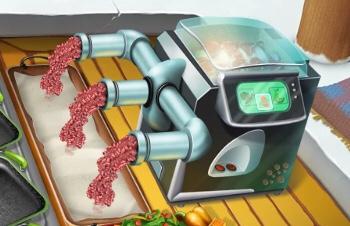 メキシコ料理ミートミキサー自動調理器の画像