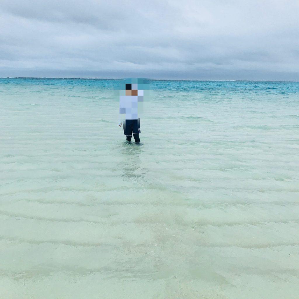 与論島百合ヶ浜の画像