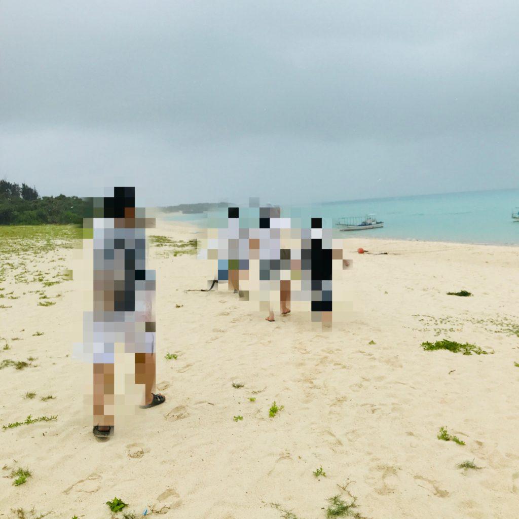 与論島百合ヶ浜ツアー画像