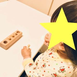 モンテッソーリ円柱さしは何歳から?1歳4ヶ月で買って失敗した我が家の口コミレビュー